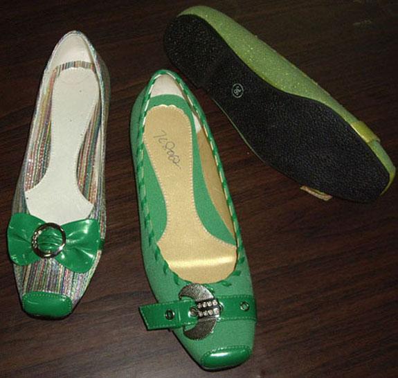 Ladies Ballet (Ballerina) Shoes (Дамы балет (балерина) Обувь)