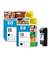 HP 15 Black Inkjet Print Cartridge (HP 15 Черный струйный картридж)