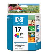 HP 17 Tri-Color Inkjet Print Cartridge (HP 17 Tri-Color-Druckpatrone dreifarbig)