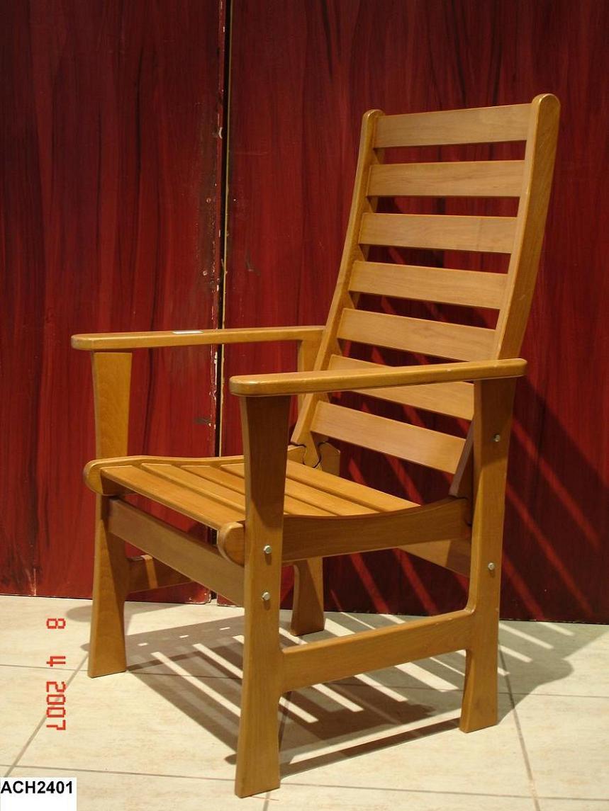 High-Back Outdoor Armchair (Высокий-B k Открытый Кресло)