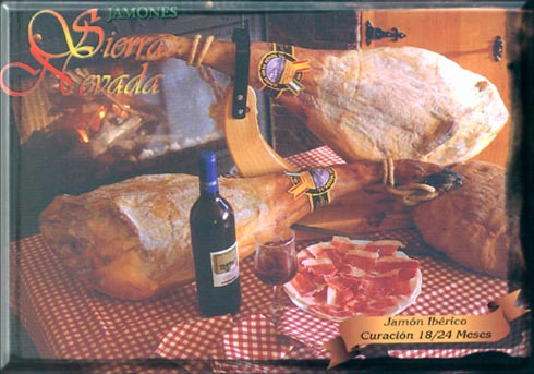 Iberic And Serrano Ham (Iberic И Серрано Хэм)