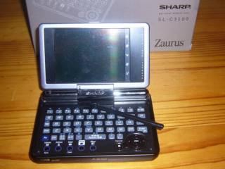 Sharp Zaurus Sl-C3100 Linux PDA 4gb HD