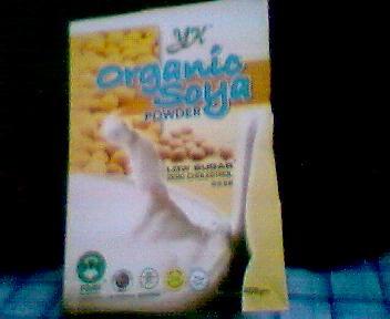 Organic Soya Powder (Poudre de soja biologique)