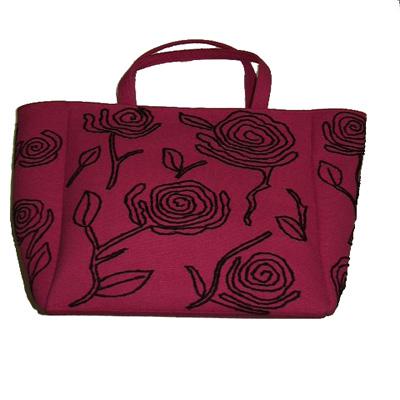 Embroidered Canvas Handbag (Холст Вышитая Сумочка)