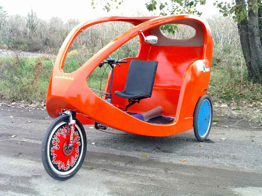 Eco Velo Taxi Tricycle (Eco Velo такси Трицикл)