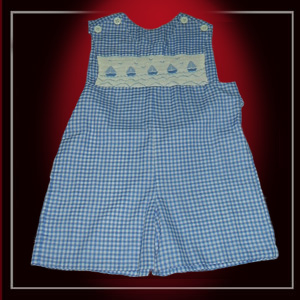 Embroidered, Smocked, Crocheting Clothing For Children
