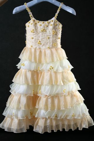 Party Dress For Little Girl And Flower Girl Dress
