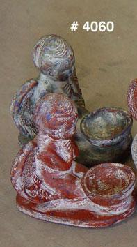 Candleholder Angel Oaxaca (Подсвечник ангел Оахака)