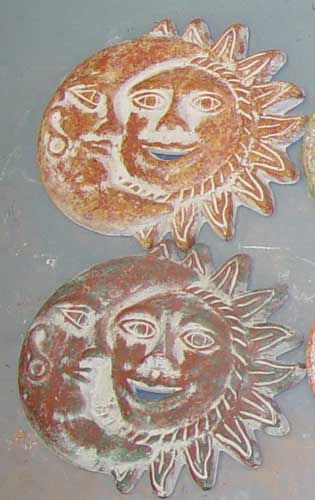 Clay Sun-Moon Plaque 45cm (Clay ВС-Луна налет 45см)
