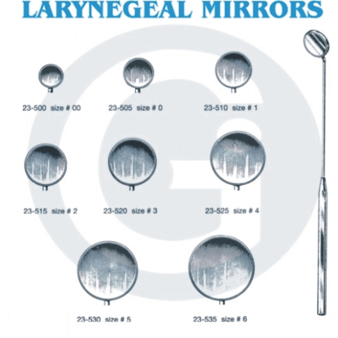 Laryngel Mirror & Handle (Laryngel Зеркало & ручки)