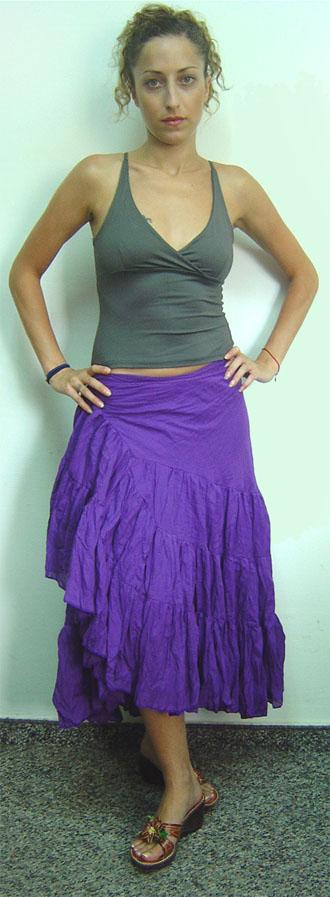 Wrinkled Skirt (Сморщенный Юбка)