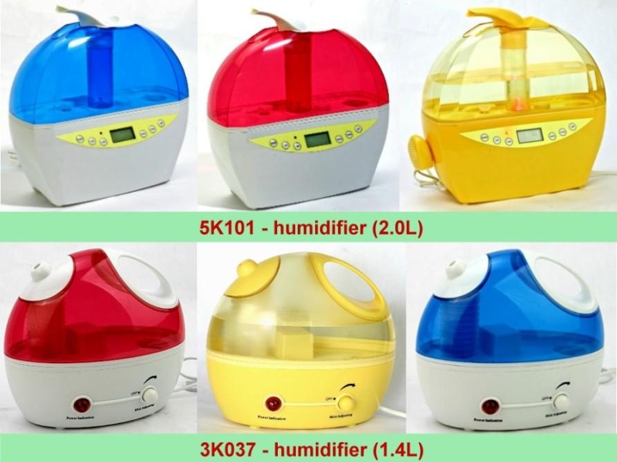 Ultrasonic Humidifier 1. 4l & 2. 0l (Ультразвуковой увлажнитель воздуха 1. 4L & 2. 0L)