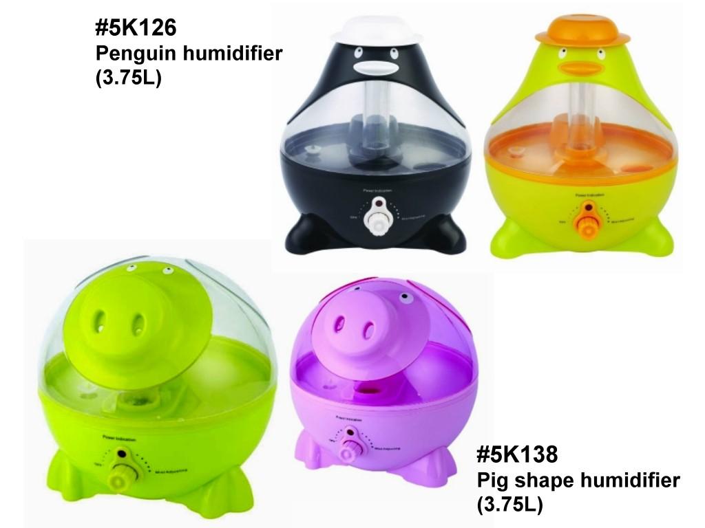 Penguin & Pig Humidifier (3.75 Litre) (Пингвин Pig & Увлажнитель (3,75 литра))
