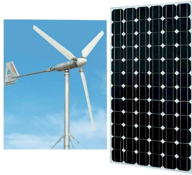 Eco Friendly Solar Or Wind Powered Electrical Generators (Eco Friendly solaire ou éolienne électriques alimentés par générateurs)
