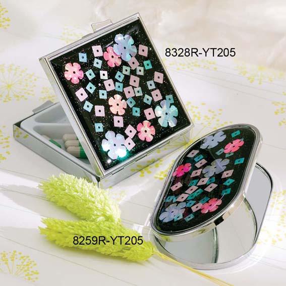 Pill Box & Compact Mirror (Pill-Box & Kompakt-Spiegel)