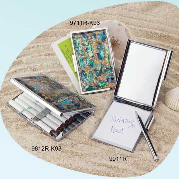 "Name Card Case, Cigarette Case, Note Pad (Name Card Case, Zigaretten-Etui, ""Notizen"")"