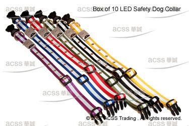 LED Safety Dog Collar (15mm Width) (Безопасность светодиодный ошейник (15mm ширина))