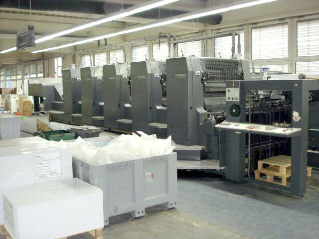 Maszyna offsetowa - Heidelberg