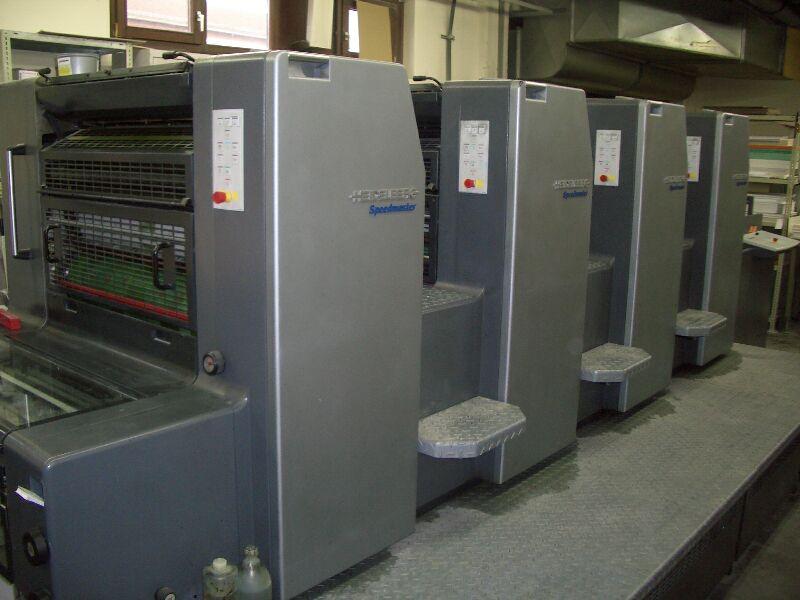 Heidelberg Printing Machine (Печатная машина Heidelberg)