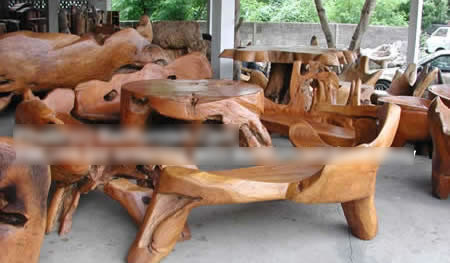 Teak Root Furniture (Тика мебель Root)