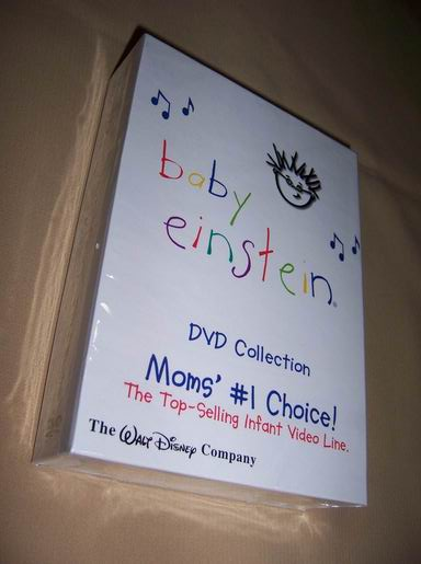 Baby Einstein 23 Discs DVD Box Set US Version (Baby Einstein 23 дисков DVD Box Set американская версия)