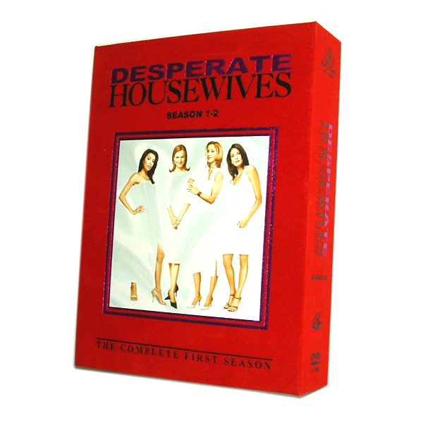 English Version Desperate Housewives Complete Season 1-2 Box (Englisch Version Desperate Housewives Season 1-2 Box)