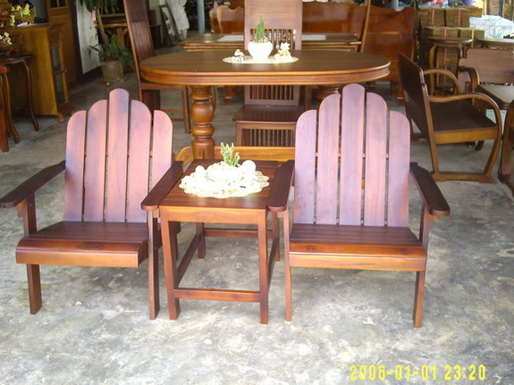 Mini Teak Furniture Set (Mini Teak Furniture Set)