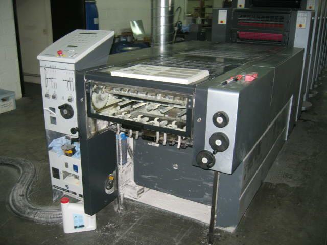 Heidelber Sm52-5p3 Lx Printing Machinery (Heidelber Sm52-5p3 Lx Полиграфическое оборудование)