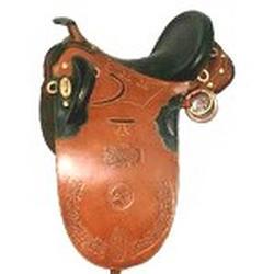Tooled Stock Saddle (Тисненой фонда Седло)