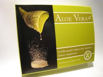 Aloe Vera Effervescent Tablet (Алоэ Вера Шипучие планшетный)