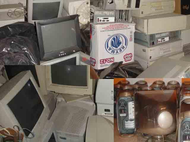 200 Tons Of Computer Scrap (200 Tonnen Schrott Computer)