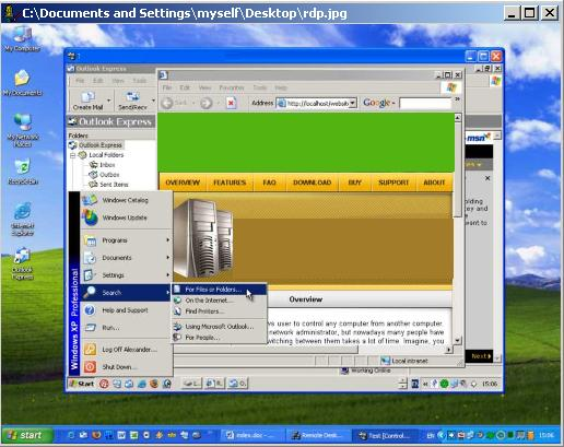 Thinserver XP Software