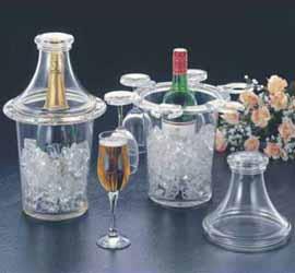 Wine Cooler W/ Cover & Hangers (Weink�hler W / Cover & Kleiderb�gel)