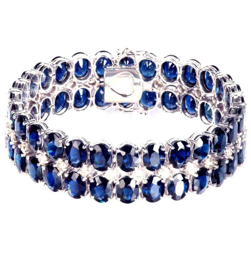 Ladies` Sapphire Bracelet (Sapphire Женский браслет)