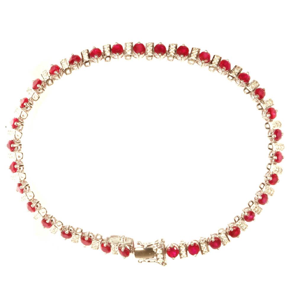 Ladies` Ruby Bracelet ( Ladies` Ruby Bracelet)