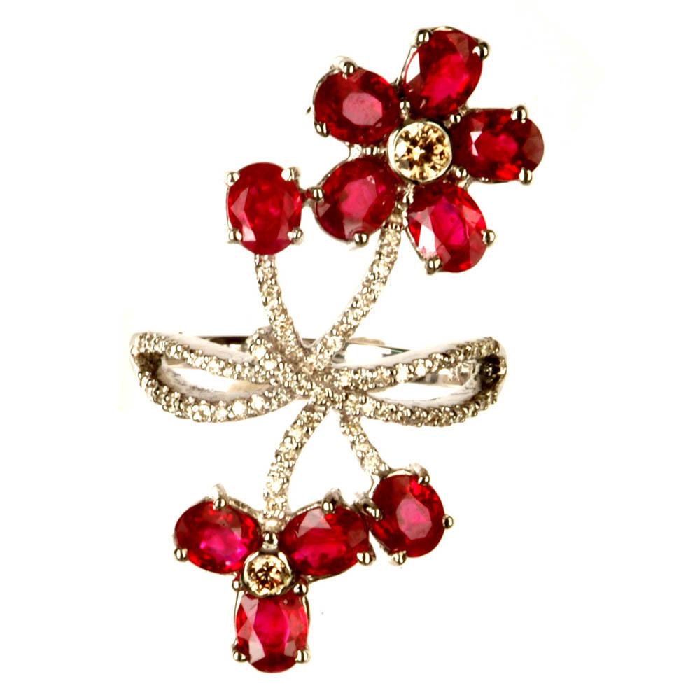 Ladies` Ruby Ring ( Ladies` Ruby Ring)