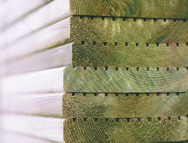 Outdoor Deck Siberian Pine & Spruce (Открытая палуба сосны сибирской & Ель)