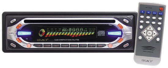 Lagacy AM / FM-MPX CD-Player W / Abnehmbares Flip Down (Lagacy AM / FM-MPX CD-Player W / Abnehmbares Flip Down)