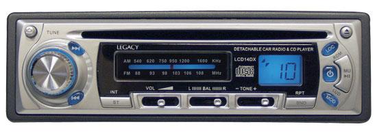 Legacy AM / FM-Mpx CD Player W/ Detachable Font Panel