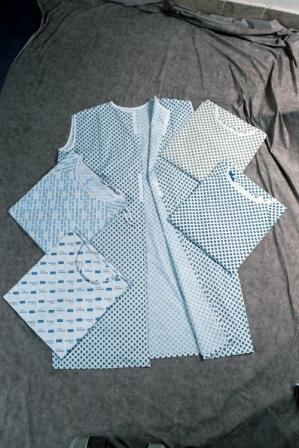 Patient Gowns (Пациент платья)