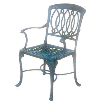 Cast Aluminum Chair (Председатель алюминиевого литья)