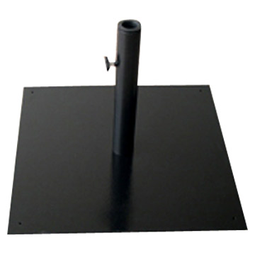 Flat Metal Umbrella Base