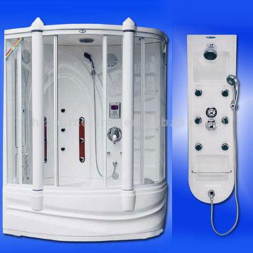Shower Room, Shower Panel, Shower Massage Appliance (Душевая комната, душ Группа, душ-массаж Appliance)
