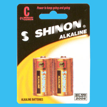 Alkaline Manganese Dry Cell Battery