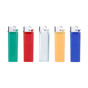 Solid Color Lighters w/Colored Heads (Solid Color Зажигалка W / Цветной главы)