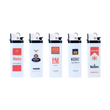 Printed Slim Opaque Lighters (Печатный Slim Непрозрачная Зажигалка)