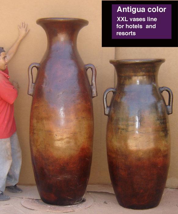 Goliath Vase 180cm, Antigua Color (Голиаф ваза 180cm, Антигуа цвет)