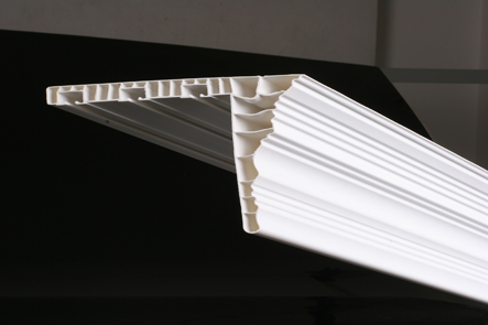 PVC Triple Decorative Curtain Rail (ПВХ Triple декоративные шторы Железнодорожный)