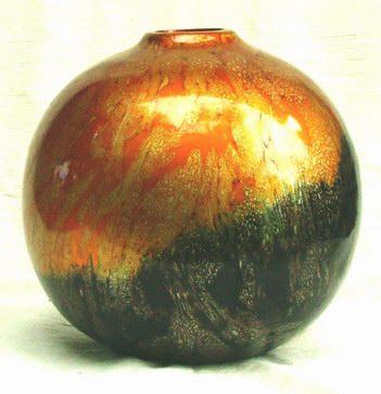 Mango Wood Vase M-032 (Mango Wood ваза М-032)