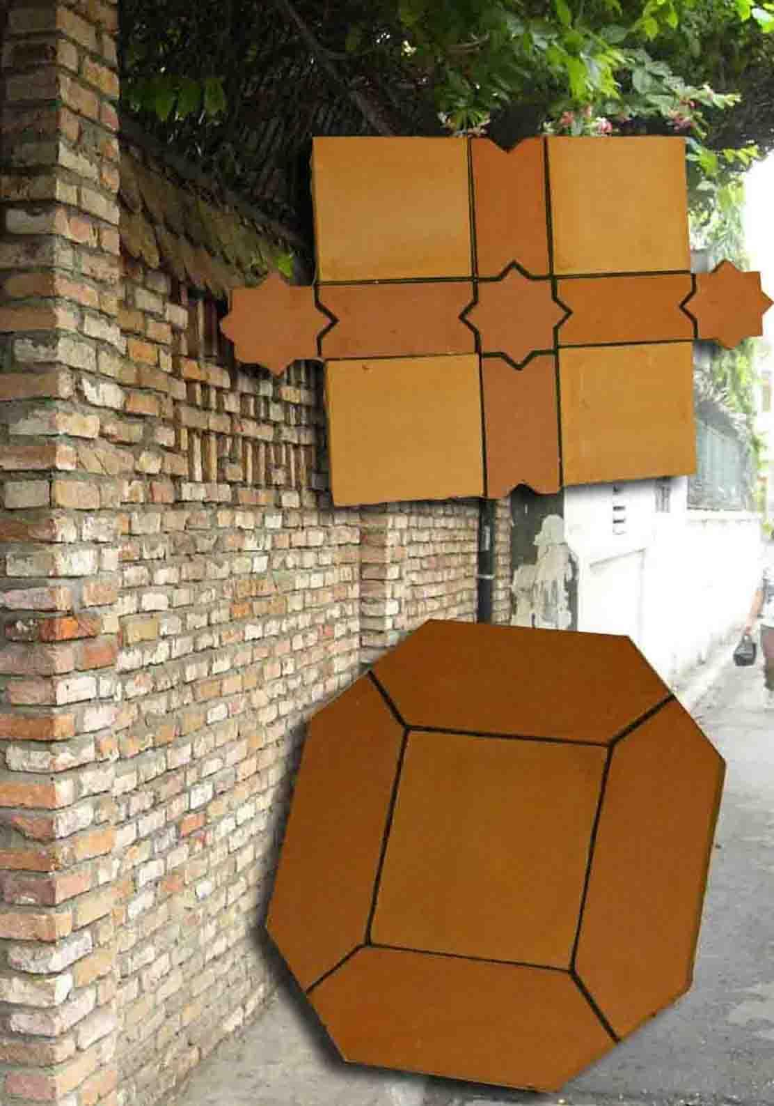 Terracotta Deco Clay Block (Терракотовая Deco глины,)